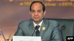 Presidenti i Egjiptit, Abdul Fattah al-Sisi.