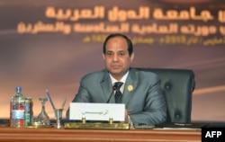 Президент Египта Абдель Фаттах ас-Сиси в марте 2015 года на саммите Лиги арабских государств в Каире