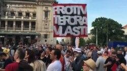 Beograd: Protest protiv 'lažne inauguracije'