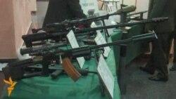Выставка военной промышленности Армении
