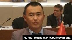 Нурмат Мусабеков.