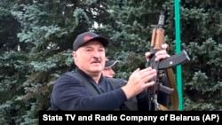 Аляксандар Лукашэнка, 23 жніўня 2020 г.
