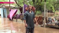 Таджикистан затопило: на республику обрушились проливные дожди