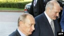 Путин и Лукашенко в Минске 6 октября