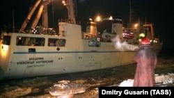 Научное судно «Академик Карпинский», аналогичное атакованному в порту Луба.