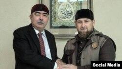 Дустум Iабдул-Рашид цхьаmнакхийтира Кадыров Рамзанца Соьлж-ГIалахь, ГIад. 5 2015 шо