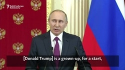 Putin Scoffs At Allegations Of Trump Misbehavior In Moscow