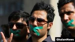 Despite every effort by the authorities, opposition supporters in Iran are making their voices heard using nontraditional methods.