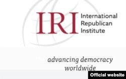 Эл аралык Республикалык Институттун (IRI) логосу.