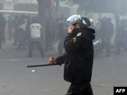Tunis, janar 2011.