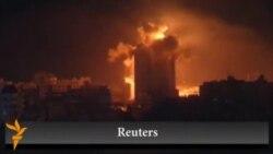 Газа секторына әуеден соққы берілді