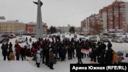 Экологический митинг в Омске