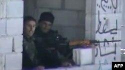 تصویر منتشر شده از سوی اپوزیسیون سوریه و منتسب به نیروهای حکومتی بشار اسد