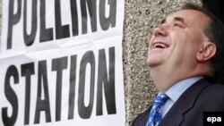 Премьер-министр Шотландии Алекс Сальмонд.