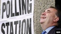 Лидер шотландских националистов Алекс Салмонд