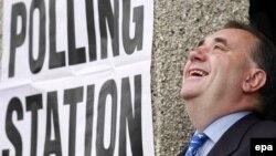 Шотландия үкіметінің басшысы, Шотландия ұлттық партиясының жетекшісі Алекс Салмонд
