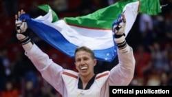 Таэквандо бўйича Ўзбекистон тарихидаги биринчи жаҳон чемпиони Дмитрий Шокин.