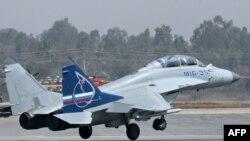 "МиГ-35 на ""Аэро Индия""-2009"