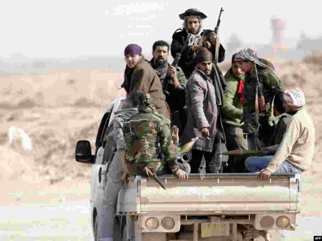 Adždabijah, 02.03.2011. Foto: AFP / Marco Longari
