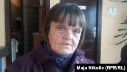 Жительница Боснии и Герцеговины Мария Майя Юрченко. Тузла, 3 февраля 2014 года.