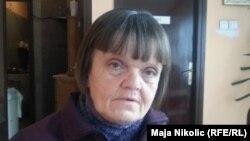 Босниялық Мария Майя Юрченко. Тузла, 3 ақпан 2014 жыл.