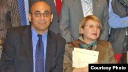 Arif (left) and Leyla Yunus are among the dozens of human rights defenders, political and civil activists, journalists, and bloggers arrested or imprisoned in the last year.