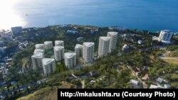 Проект жилого массива «Морской квартал» в Алуште