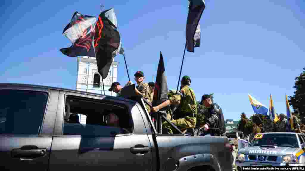 «Автопробіг пам'яті» бійців, які виходили з Іловайська