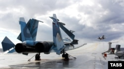 Российские истребители МиГ-29К