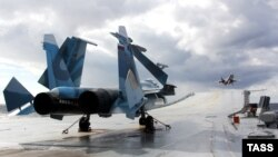 Российский истребитель МиГ-29К