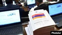 Проект госбюджета Армении на 2017 год в Национальном собрании РА, декабрь 2016 г.