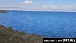 Armenia - A view of Lake Sevan, September 8, 2018.