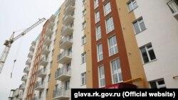 Строительство бюджетного жилья в аннексированном Крыму