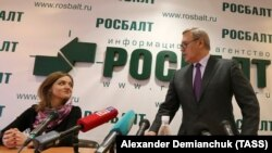 Наталья Грязневич и Михаил Касьянов