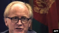 Kai Eide, the UN special envoy to Afghanistan