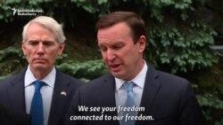 U.S. Senators Pledge Continued Security Support To Ukraine