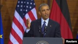 Presidenti amerikan, Barack Obama, Hanover, 25 prill 2016