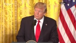 """Трамп предвидува """"мир преку сила"""""""