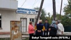 Арашан айылынын тургундары. 23-сентябрь, 2019-жыл.