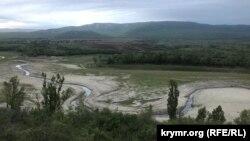 Зміліле Білогірське водосховище, 13 травня 2020 року
