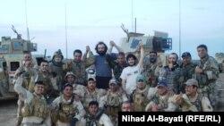 المختطفون الأتراك وافراد القوة الأمنية العراقية التي حررتهم
