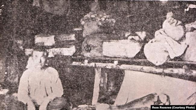 Шаман Прасин, расстрелянный по 58-й статье. Река Вах, 1926 год