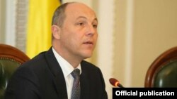"Andriy Parubiy: ""I am ashamed of our decisions."""