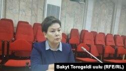 Ленара Ниязбекова.