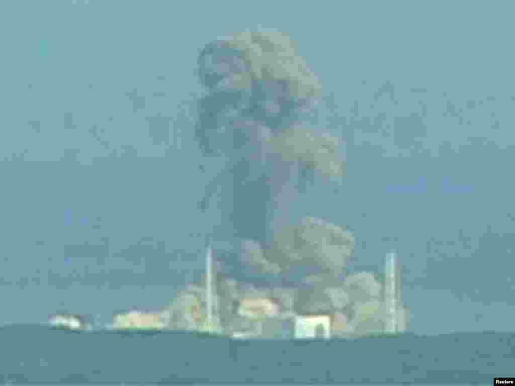 Eksplozija u nuklearki Fukushima Daichi kod reaktora 3, 14.03.2011. Foto: Reuters