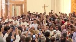 Osvećenje prištinske katedrale Majke Tereze