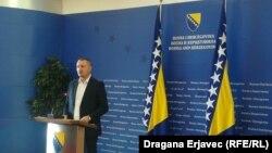 Ministar pravde BiH Josip Grubeša