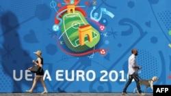 УЕФА реклама баннери.