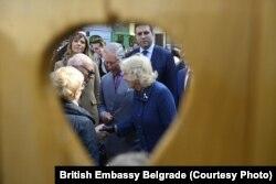Princ Čarls i vojvotkinja Kamila u Novom Sadu