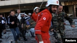 Сотрудники Международного комитета Красного Креста в Бейруте